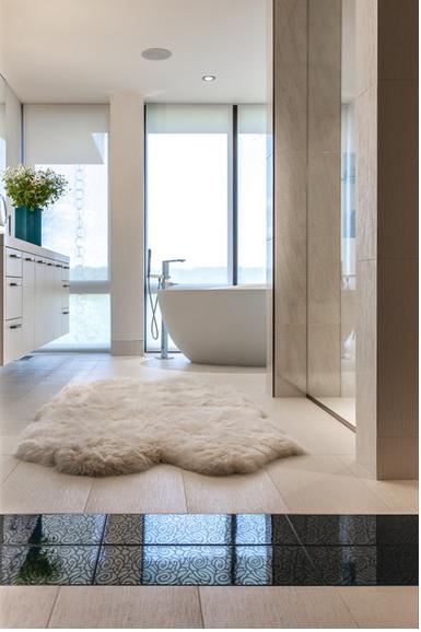 O banheiro também merece atenção  Nova Trento Empreendimentos Imobiliários  -> Tapete Banheiro Pequeno